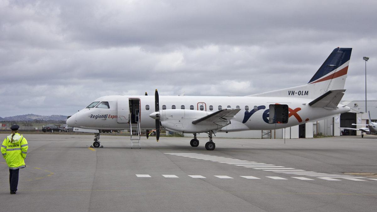 Australia's Regional Express Sticking With Saab 340